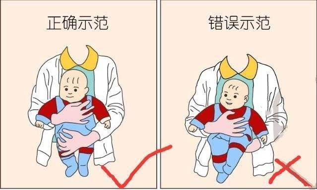 宝宝出生后多久可以竖抱?很多家长都弄错了,其实这个时间就可以
