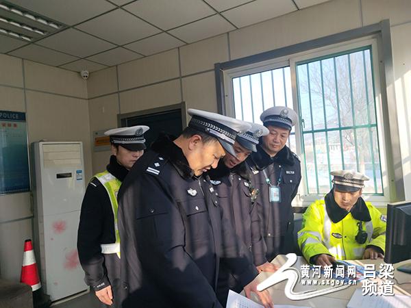 长春智联招聘网交口交警队杨云珍深入基层中队