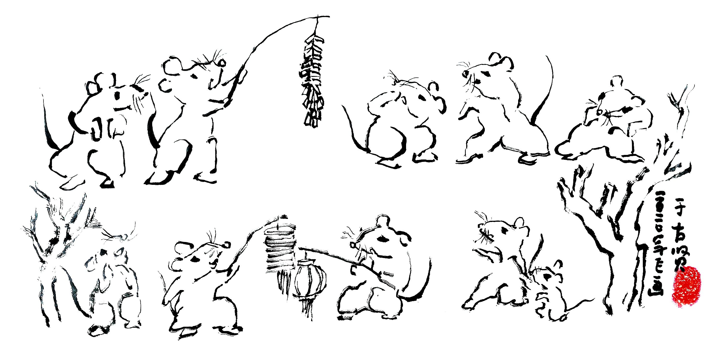 《舞鼠闹春纳福》――河南省工艺美术大师薛小飞鼠年匠心力作