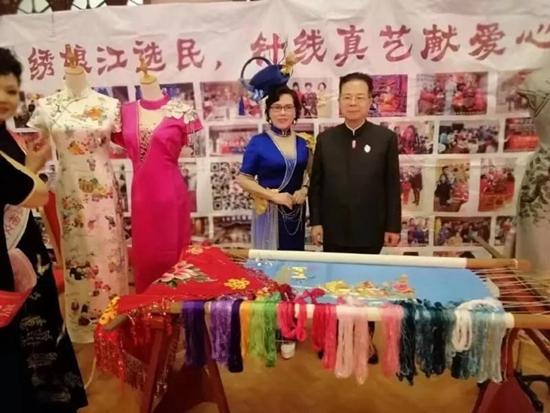 北京江选民刺绣有限公司 受邀参加《2020中国华服春晚》