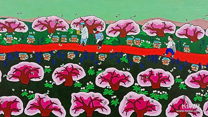 【新春走基层】河北辛集农民画:绘出美好新生活