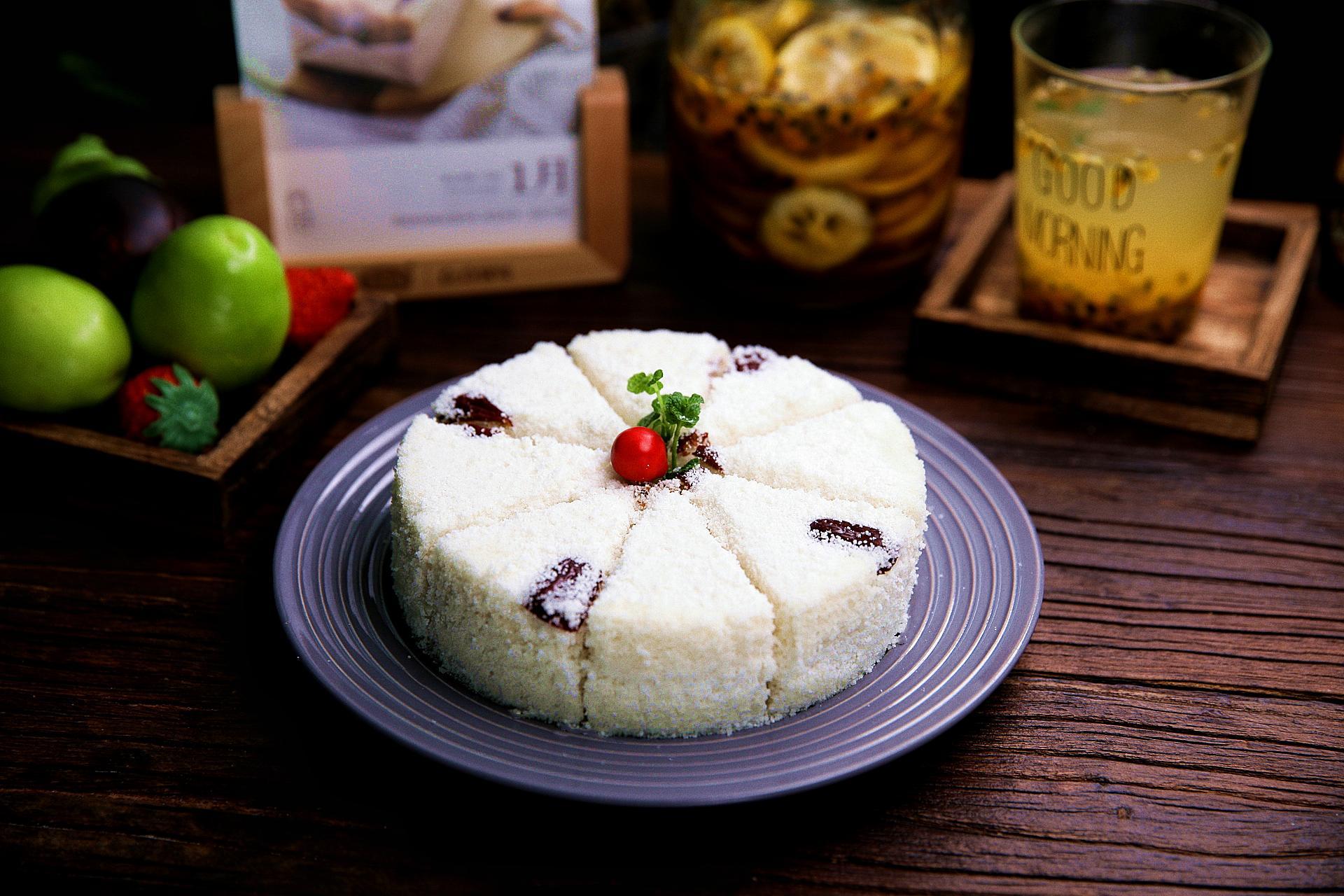米糕可以用烤箱烤吗【大米糕最简单的做法,无需烤箱,蒸一蒸,暄软弹口,好吃不上火】
