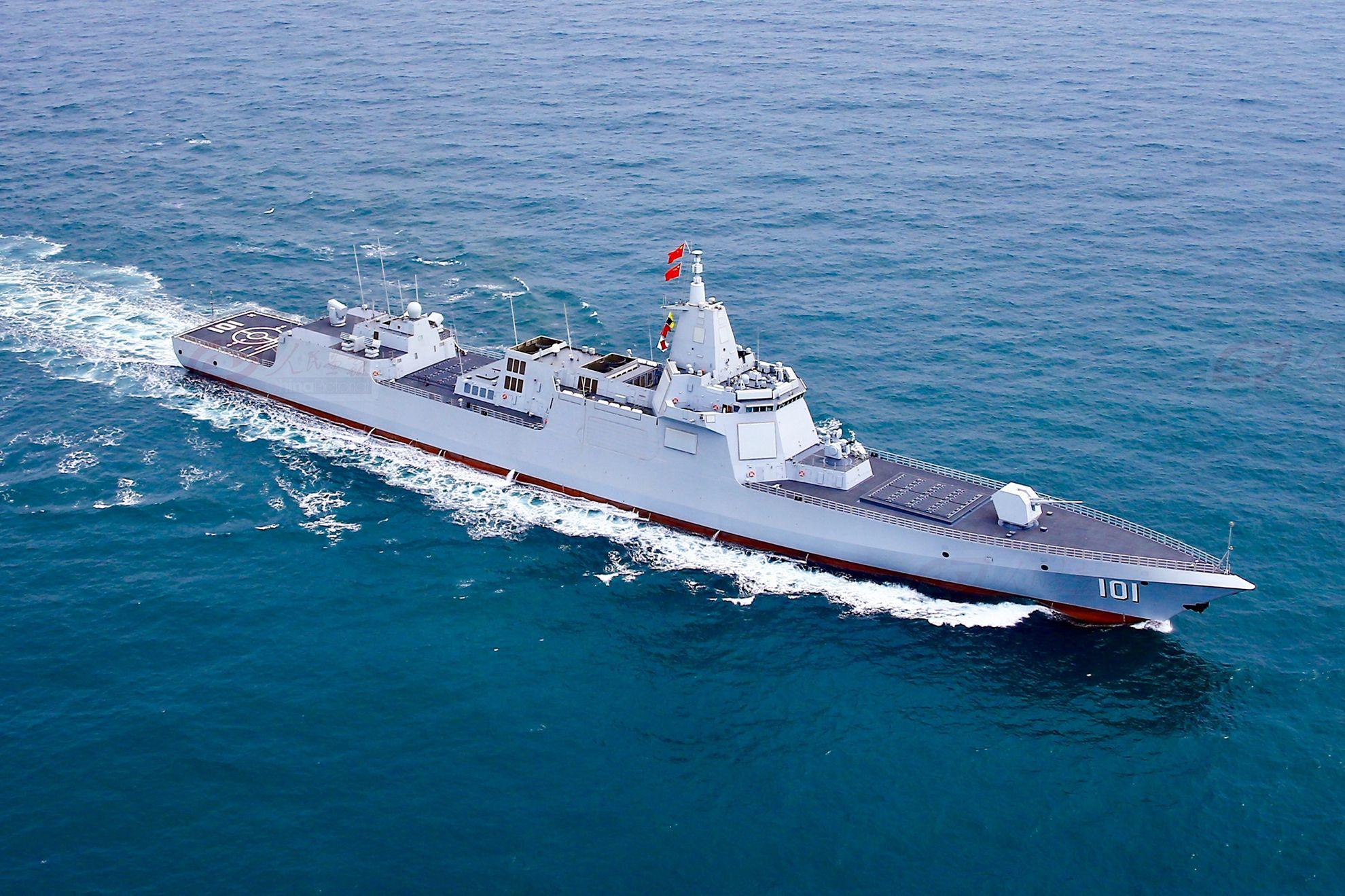中船重工传来捷报,055推进系统大突破,破解困扰海军发展难题