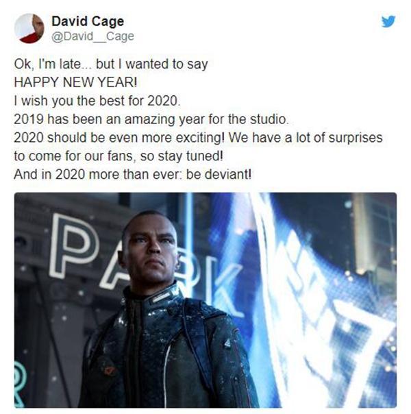 《底特律成为人类》开发商或将在年内公布新作