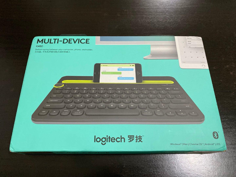 给我一个键盘让办公更舒适!— 罗技K480体验分享