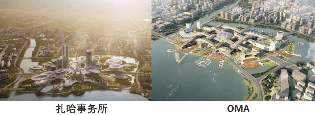"""全球74家单位中胜出,扎哈事务所设计""""独角兽岛""""第一座建筑即将竣工"""