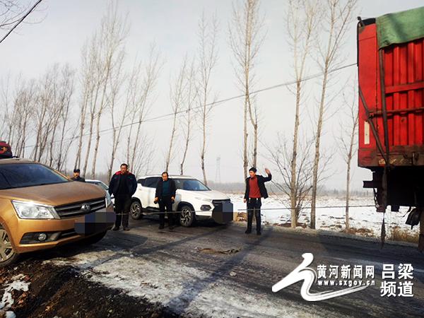 新股上市一览表汾阳市:一车辆滑入