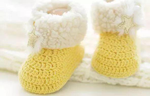 又暖又可爱的宝宝针织鞋,萌化人心!这次附步骤了,赶快学