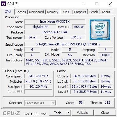 """原创             英特尔56核新CPU在闲鱼""""偷跑"""",全核心可上5.1GHz"""