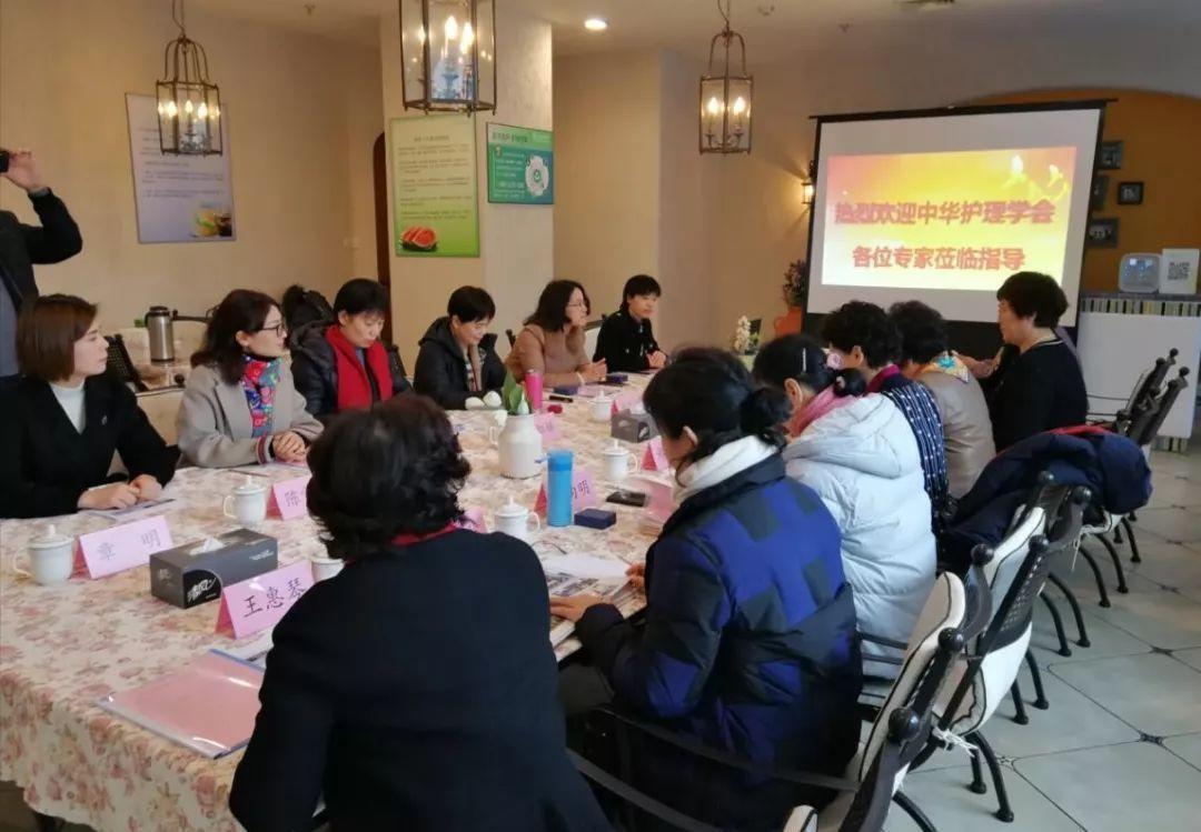 """中华护理学会决策咨询专业委员会《2020年""""互联网+护理""""工作咨询会》"""