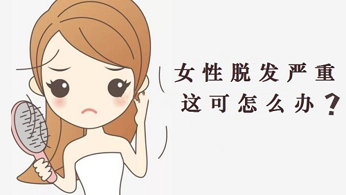 女性严重脱发是什么原因?