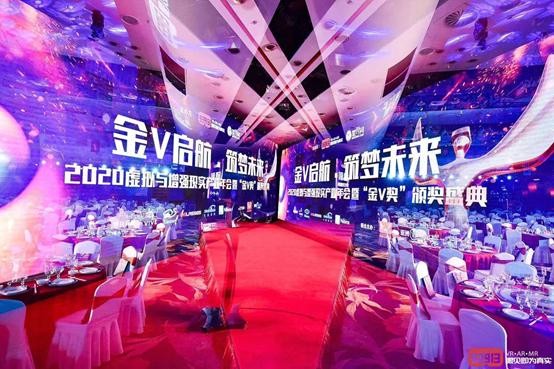 """金V启航,筑梦未来—-大朋VR斩获""""最佳硬件""""奖"""