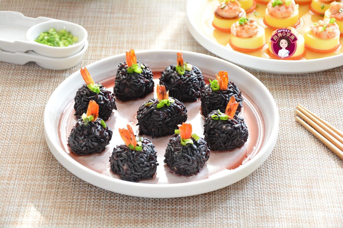 """年夜饭,教你做""""黑珍珠丸子"""",少油盐,寓意财源滚滚,鸿运"""