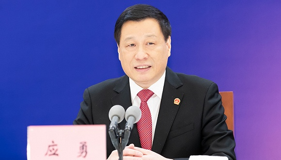 上海市政府举行记者招待会,应勇市长就进博会溢出效应回答界面