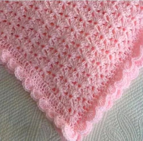 【舒适又实用!多款漂亮的婴儿毛线毯子,会编织的妈妈了不起】