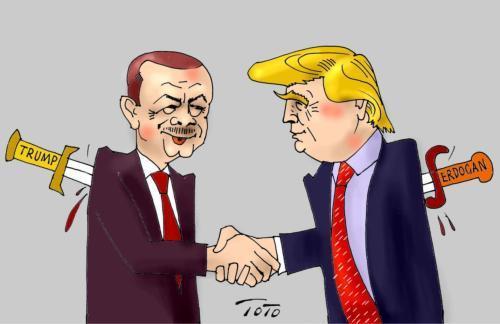 美国对土耳其动真格了,埃尔多安一怒之下,当面向普京做出承诺