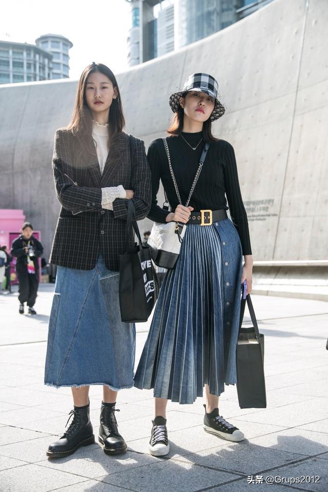CELINE、Givenchy都大推!这款牛仔半身裙 势成2020春夏大热款