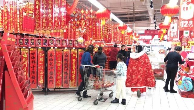"""补强全场景春节不打烊 家乐福升级引爆""""苏福年"""""""