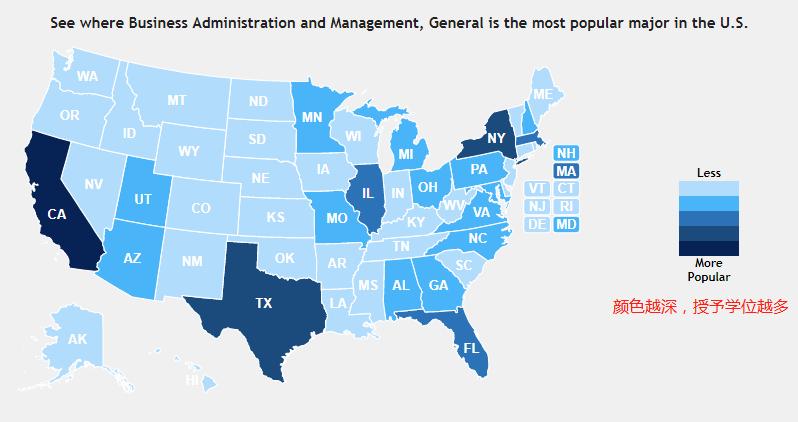 2019年全美一共授予多少硕士学位?什么专业学位最火爆?