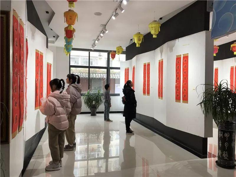 瓯南书画 迎鼠年春联展
