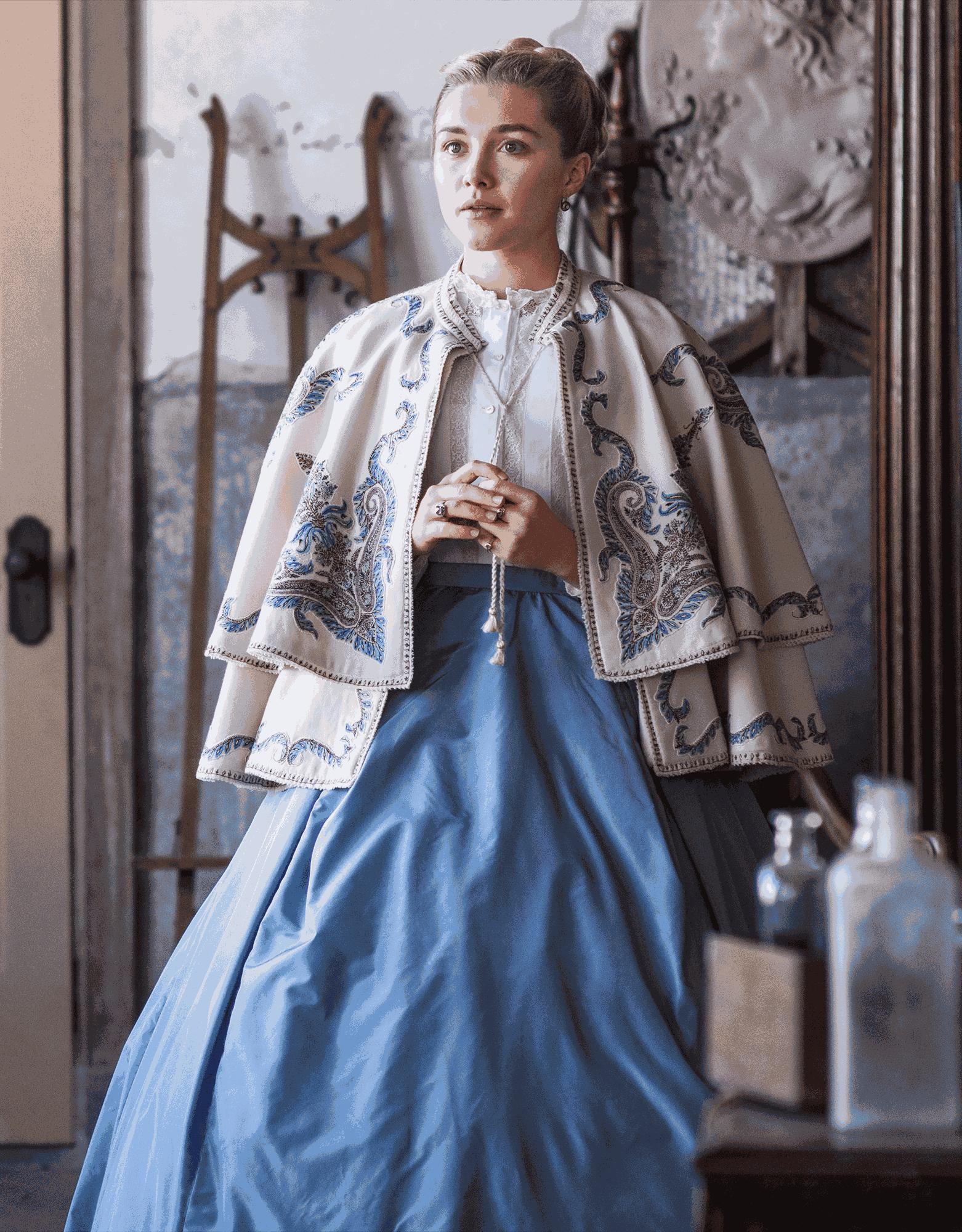 原创             《小妇人》情人节惊喜来袭?四姐妹剧中与首映礼上服装有何差异?