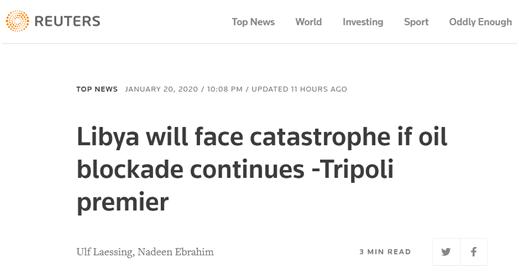 """利比亚民族团结政府总理:同意柏林峰会停火协议,但拒绝与""""国民军""""领导人对话"""