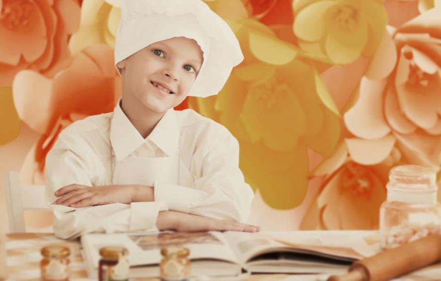 """假期里,就让孩子们适当的接触""""厨房教育""""吧"""