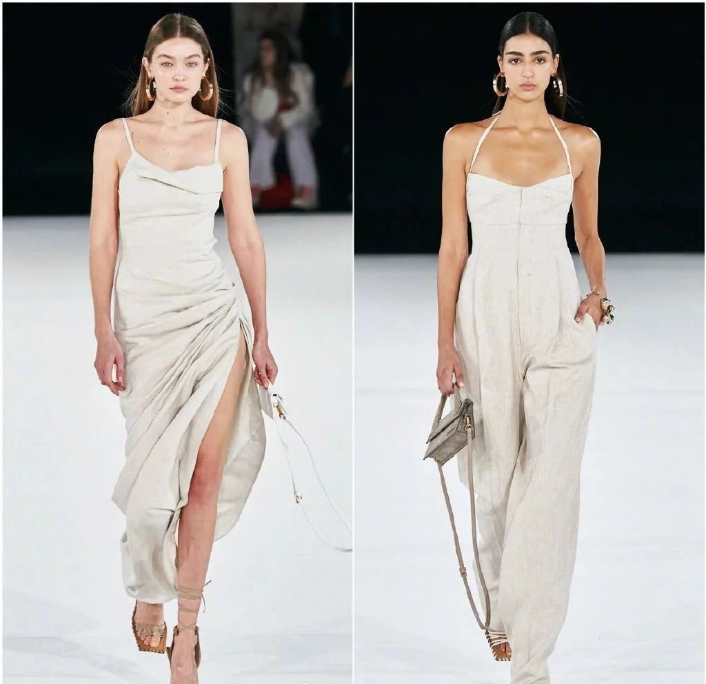 Jacquemus2020秀场解析,从服装到色调再到模特都太赏心悦目了