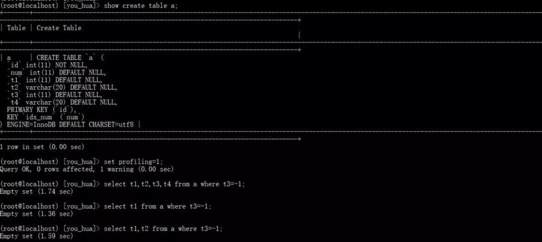 技术分享 | MySQL:查询字段数量多少对查询效率的影响