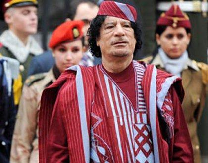 卡扎菲的美女保镖有多漂亮?出访意大利时,总理的眼神说明了一切_意大利新闻_意大利中文网
