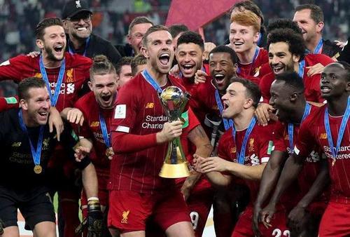 2019俱乐部排名:利物浦霸榜巴萨居次席 曼城第3