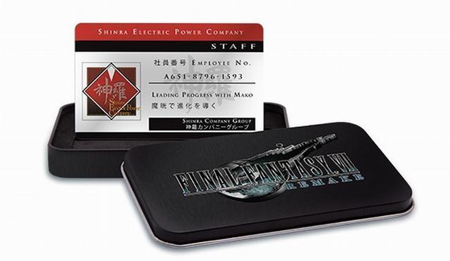 《最终幻想7:重制版》中文实体版预售 预购得神罗员工ID卡