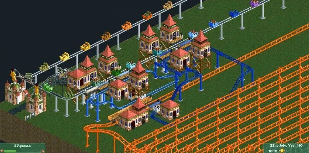 他造出《模拟乐园2》人生告别式轨道,要现实135年才能跑完