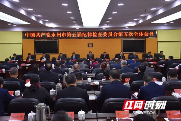 地高龙中共永州市第五届纪律检查委员会第五次