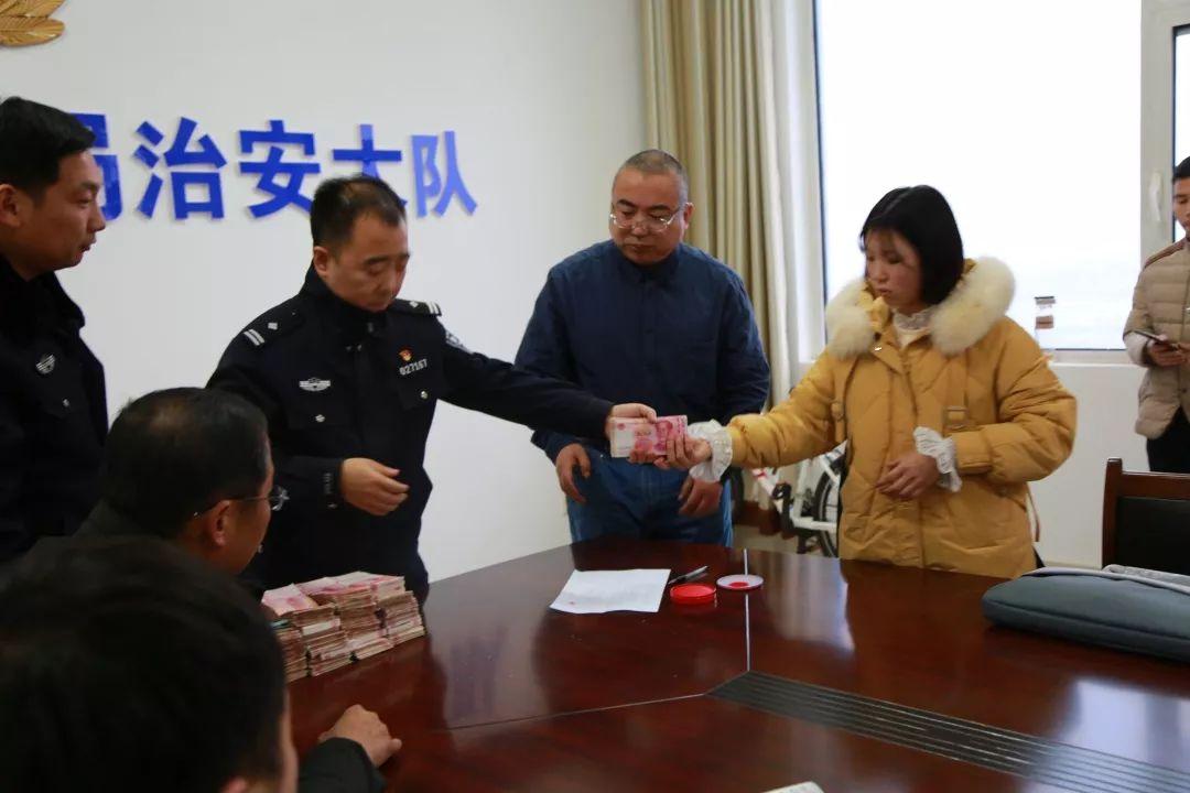 """让农民工安""""薪""""过年,成安县公安局成功为农民工追回25.4万元拖欠工资"""