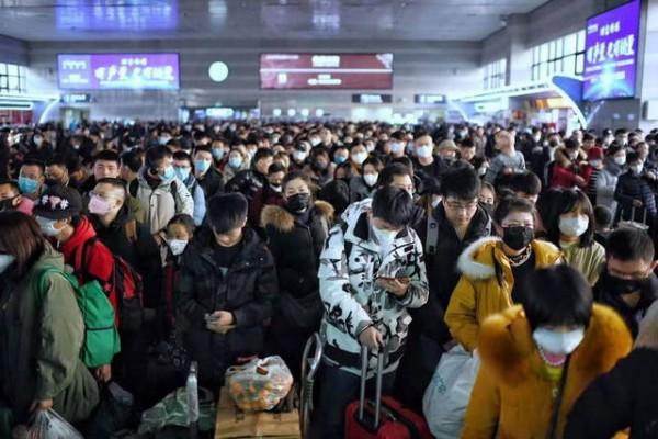 蒋介石老婆北京铁路春运迎高峰 车站