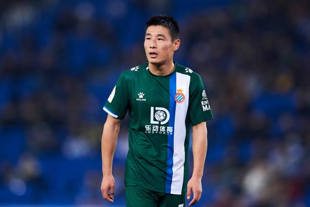 国王杯-武磊首发遗憾中柱 西班牙人0-2