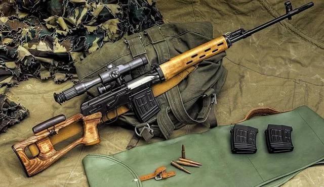 世界上最具邪恶美的枪 没有之一 红色枪王SVD狙击步枪