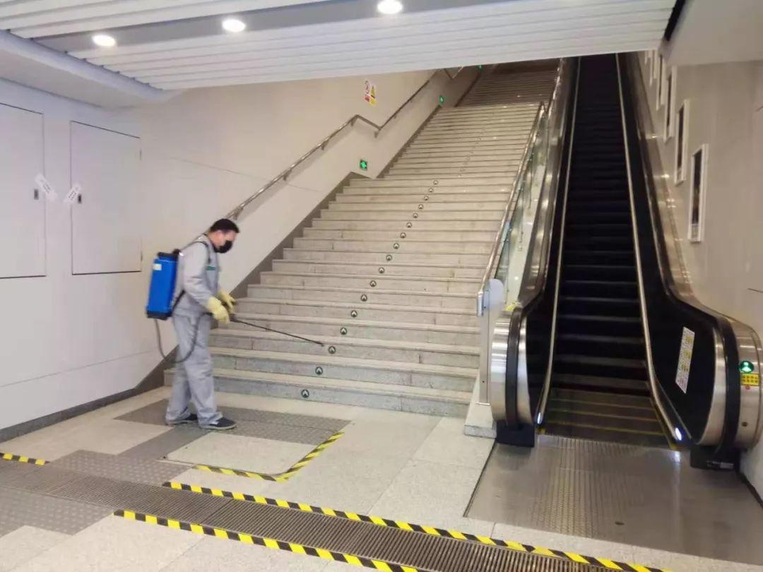 石家庄地铁启动防控新型冠状病毒肺炎疫情应急程序