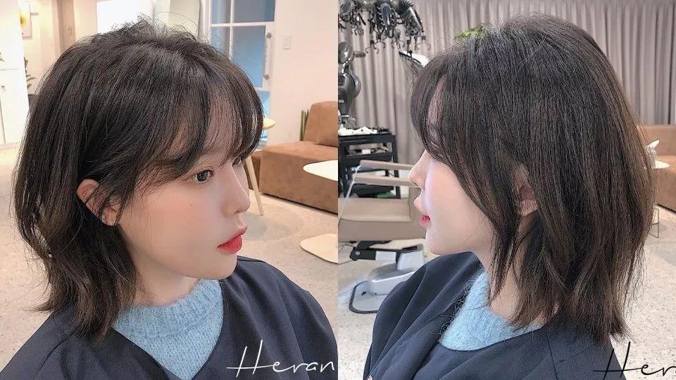 2020年韩国大势剪发范本!蓬松感WIND CUT发型图鉴,显瘦遮肉