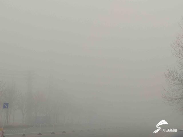海麗氣象吧∣山東發布大霧橙色預警 8個市出現強濃霧 局地能見度不足50米
