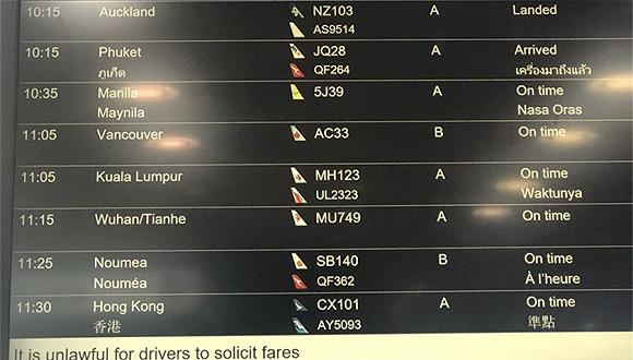 多家外企限制员工前往武汉,天河机场今10点后六成离境国际航班取消