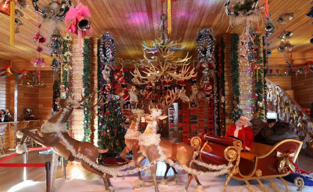 原创             大东北的绝美童话世界,漠河北极圣诞村,极具冰雪魅力的文化盛宴