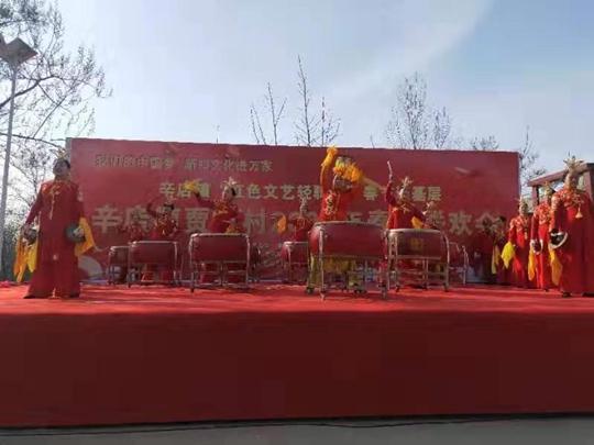 新鄭市辛店鎮賈崗村:幸福春節到  新風在我家