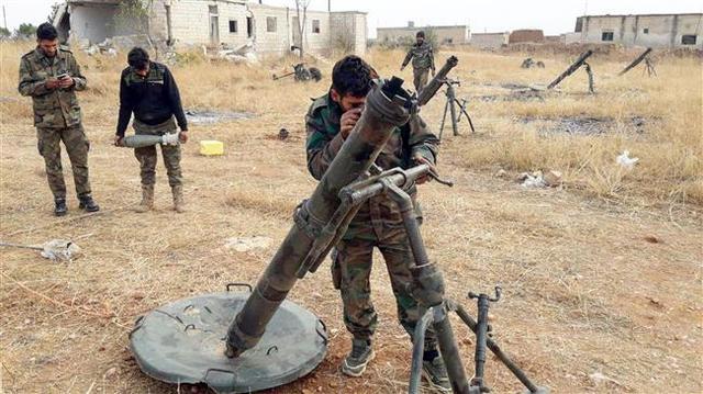 伤亡惨重!数百叛军发起冲锋,俄叙联军苦撑不住全线溃败