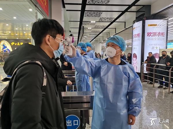 乌鲁木齐国际机场规范防控疫情