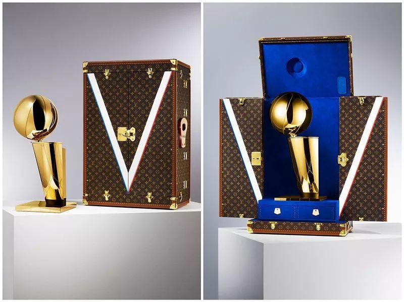 NBA首次牵手国际奢侈品牌,与LouisVuitton达成长期合作协议