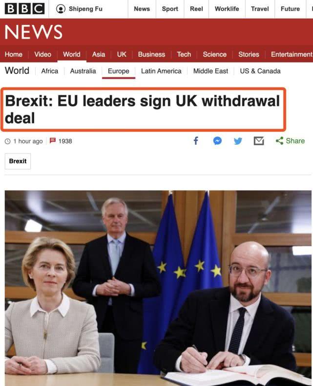 一周之后,英国准时脱欧!_英国新闻_英国中文网
