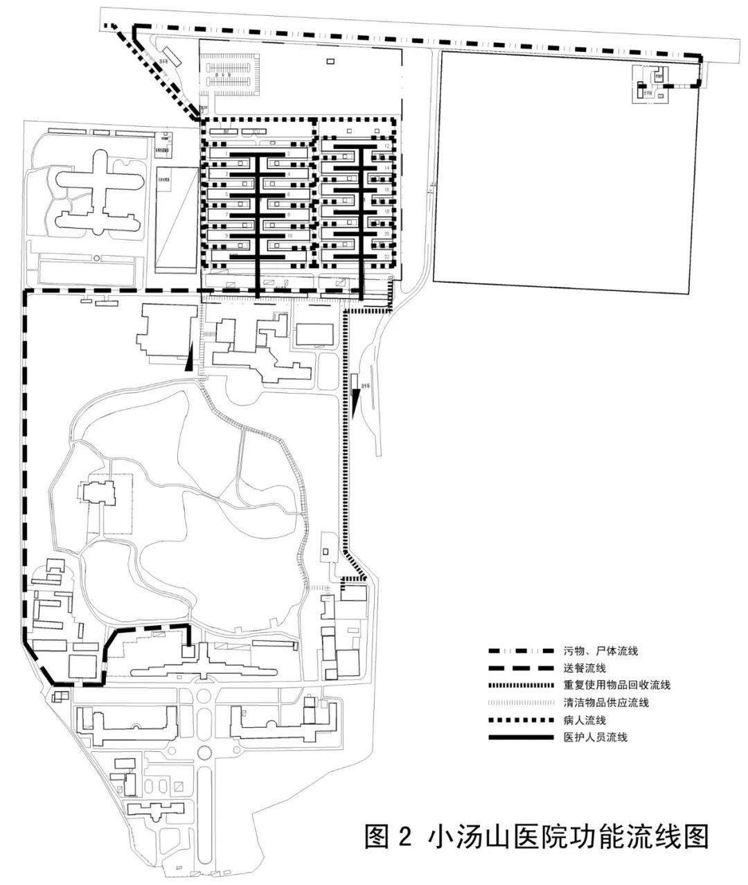 小汤山医院部分设计图