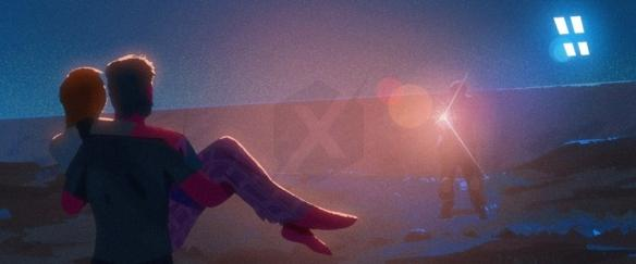 《美国末日》动画电影概念画:艾莉和乔尔的故事